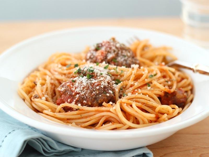 Riverford Farm Shop, italian-meatball-pasta-sauce