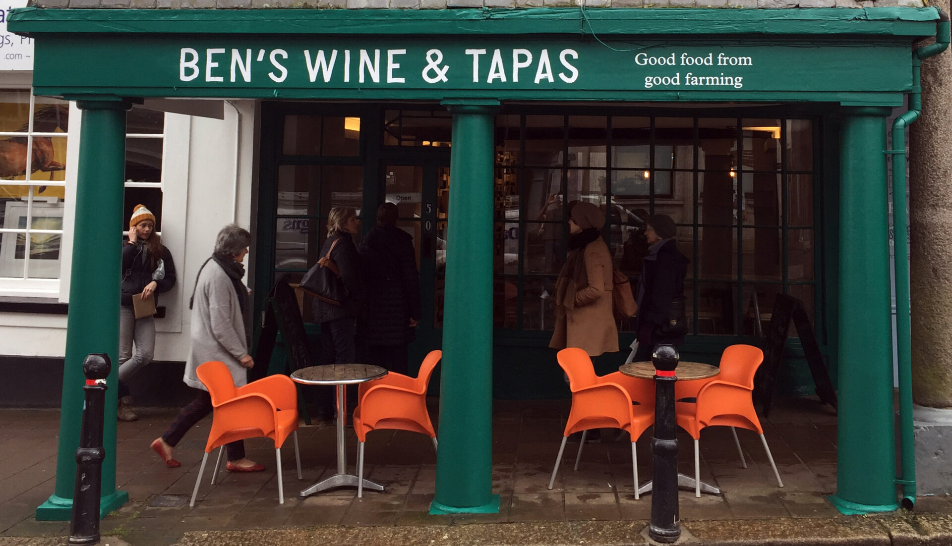 Ben's Wine & Tapas Totnes Devon