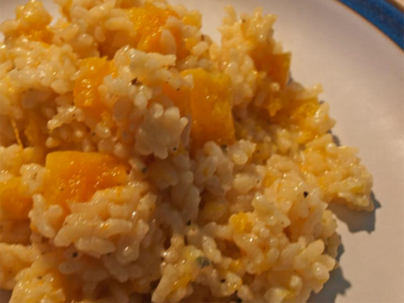 Riverford Farm Shop, baked-butternut-squash-risotto