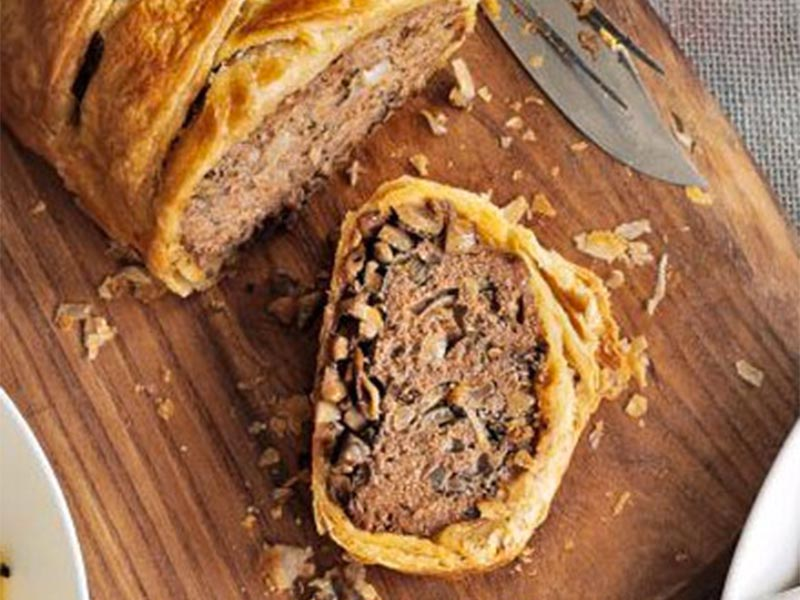 Riverford Farm Shop, beef-sausage-roll