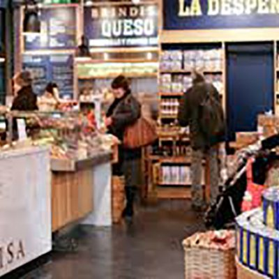 Enjoy tasters of artisan Spanish Food