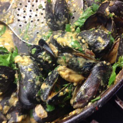 Masala Mussels