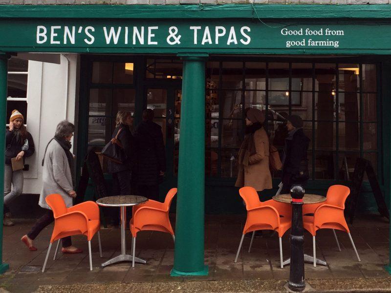 BEN'S WINE & TAPAS, TOTNES