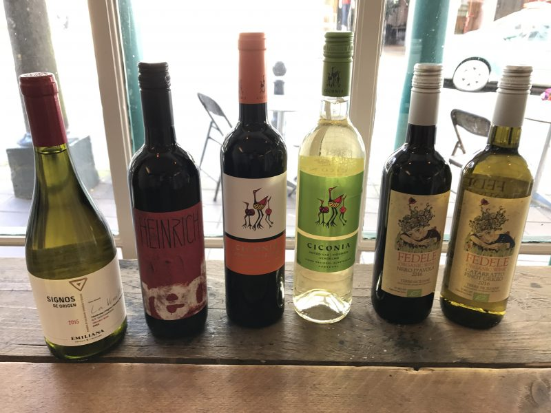 August wines on offer at Ben's Farm Shop