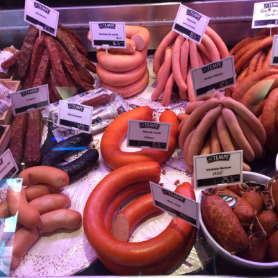Four ways with smoked Montbeliard sausages