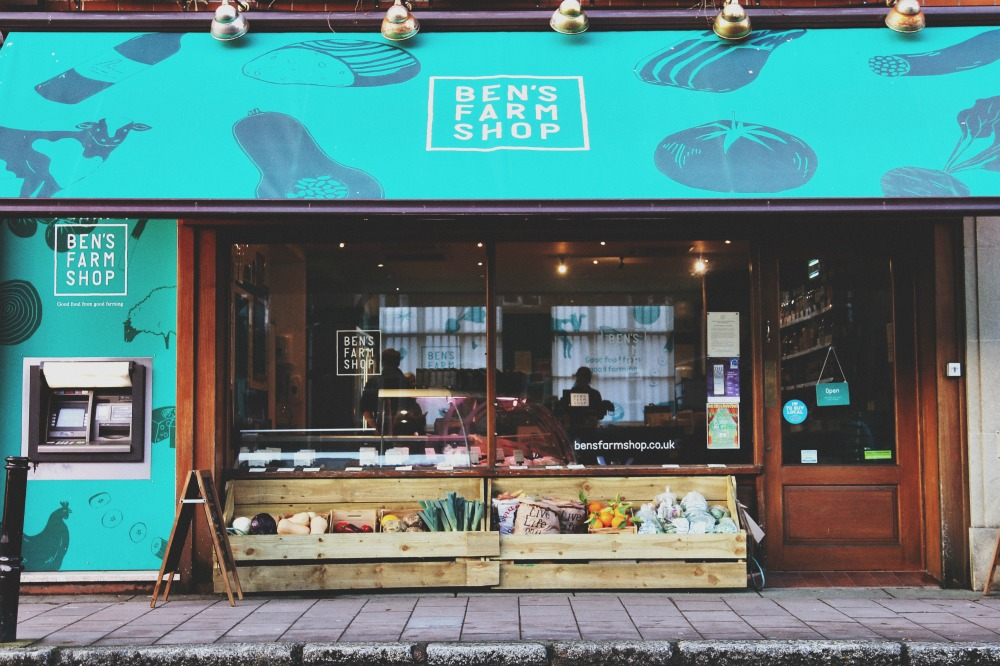 Exeter shop front