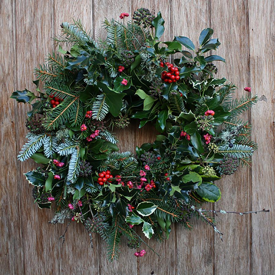 Christmas Wreath Making Workshop Ben S Farm Shop Riverford Events